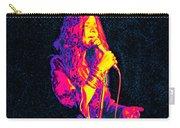 Janis Joplin Psychedelic Fresno  Carry-all Pouch by Joann Vitali