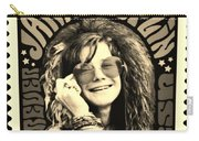 Janis Stamp In A Sepia Vibe Carry-all Pouch