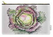 January King Cabbage  Carry-all Pouch