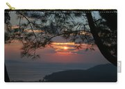 January Sunset Akyaka Carry-all Pouch