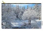 January Trees Carry-all Pouch