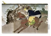 Japan Boshin War, 1868 Carry-all Pouch