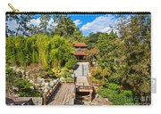 Japan In Pasadena - Beautiful View Of The Newly Renovated Japanese Garden In The Huntington Library. Carry-all Pouch