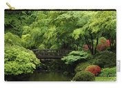 Japanes Garden Reverie Portland Oregon Carry-all Pouch