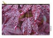 Japanese Acer Palmatum Atropurpurea Shrub Carry-all Pouch