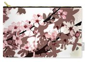 Japanese Blossom Carry-all Pouch by Sarah OToole