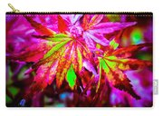 Japanese Bonfire Maple Carry-all Pouch