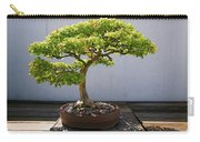Japanese Bonsai Tree In National Carry-all Pouch