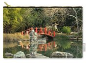 Japanese Bridge Over Water Carry-all Pouch