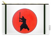 Japanese Bushido Way Of The Warrior Carry-all Pouch