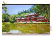 Japanese Byodoin Temple Carry-all Pouch