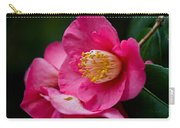 Japanese Camellia-the Official State Flower Of  Alabama Carry-all Pouch