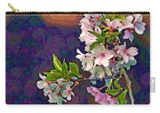 Japanese Cherry Blossom Branch Carry-all Pouch