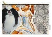 Japanese Chin Art - Una Parisienne Movie Poster Carry-all Pouch
