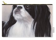 Japanese Chin Painting Carry-all Pouch