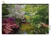 Japanese Garden In Bloom Carry-all Pouch