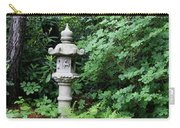 Japanese Garden Lantern Carry-all Pouch