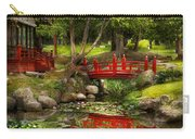 Japanese Garden - Meditation Carry-all Pouch by Mike Savad