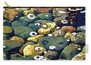 Japanese Garden Pool Rocks Carry-all Pouch