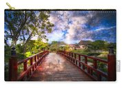 Japanese Gardens Carry-all Pouch by Debra and Dave Vanderlaan