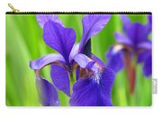 Japanese Iris By Kim Mobley Carry-all Pouch