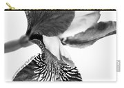 Japanese Iris Flower Monochrome Carry-all Pouch