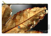 Japanese Maple Leaf Brown - 4 Carry-all Pouch