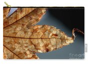 Japanese Maple Leaf Brown - 1 Carry-all Pouch