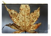 Japanese Maple Leaf Brown - 3 Carry-all Pouch