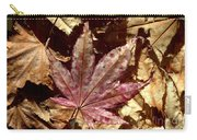 Japanese Maple Tree Leaves Carry-all Pouch