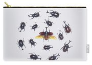 Japanese Rhinoceros Beetle Males Carry-all Pouch