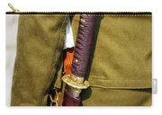 Japanese Sword Ww II Carry-all Pouch by Thomas Woolworth