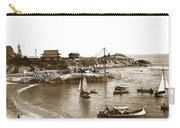Japanese Tea Garden Glass Bottom Boats At Lovers Point Pacific Grove California Circa 1907 Carry-all Pouch