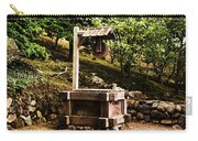 Japanese Tea Garden Well Carry-all Pouch