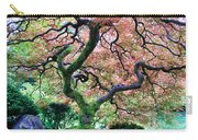 Japanese Tree In Garden Carry-all Pouch