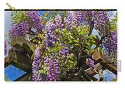 Japanese Wisteria On Trellis Carry-all Pouch