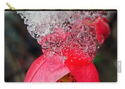 Ice Flower Carry-all Pouch