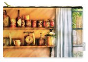 Jars - Kitchen Shelves Carry-all Pouch by Mike Savad