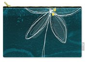 Jasmine Flower Carry-all Pouch by Linda Woods