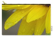 Jaune Petals Carry-all Pouch