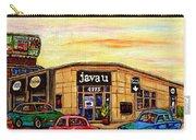 Java U Cafe Jean Talon Car Wash Coffee Shop Depanneur Montreal Art Sale Cspandau                     Carry-all Pouch