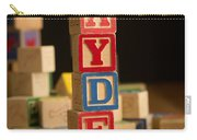 Jayden - Alphabet Blocks Carry-all Pouch