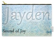 Jayden - Sound Of Joy Carry-all Pouch