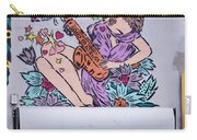 Jazz And Butterflies Carry-all Pouch