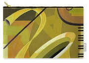 Jazz Carry-all Pouch by Carolyn Hubbard-Ford