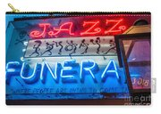 Jazz Funeral And Lamp Nola Carry-all Pouch