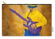 Jazz Guitar Man Carry-all Pouch