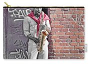 Jazz Man - Street Performer Carry-all Pouch