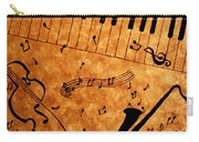 Jazz Music Coffee Painting Carry-all Pouch