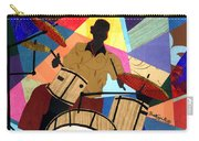 Jazzy Drummer Carry-all Pouch